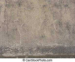 worn dirty gray beige brown wall