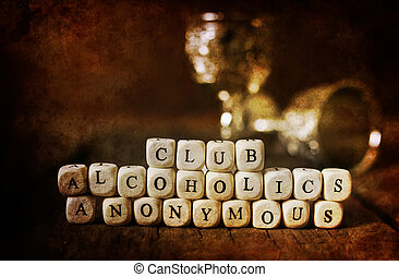 worn dirty old picture aged concept addiction treatment help