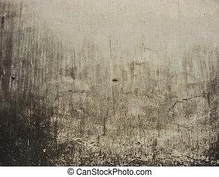 worn dirty white wall