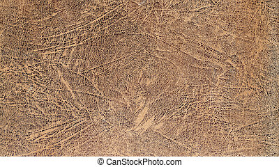 Worn leather background - High detail macro photo of worn...