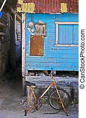 Worn Out Stationary Bike