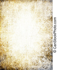 Worn paper background. - Old paper background with half-...
