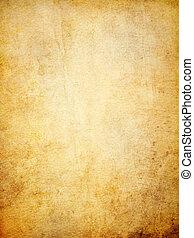 Worn paper background. - Old worn paper background.