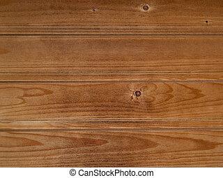 Worn pinewood paneling - Horizontal pine paneling from a...