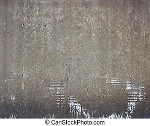 worn very dirty gray beige factory industrial wall
