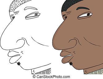 Worried Black Man