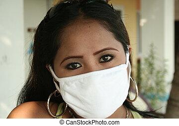 worried - a sick filipina