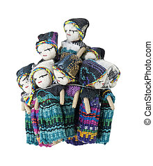 Worry Dolls are used for a piece of mind. Confide to the worry dolls at night your worries to relieve yourself of stress, and have a good night's sleep - path included