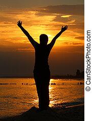 Worship, person isn\\\'t identifable