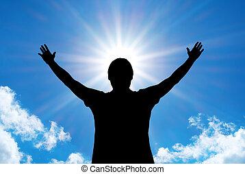 Worship to God