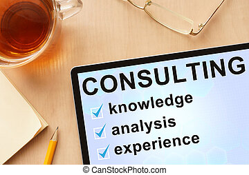 wort, consulting., tablette