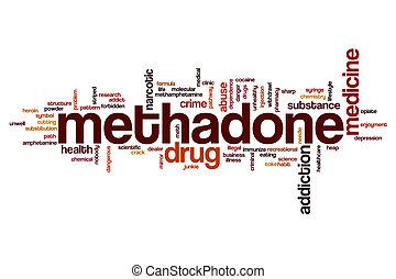 wort, methadone, wolke