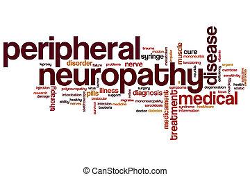 wort, neuropathy, peripher, wolke