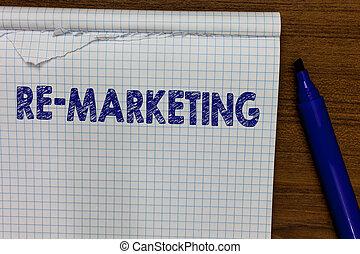 wort, schreibende, text, re, marketing., geschäftskonzept,...