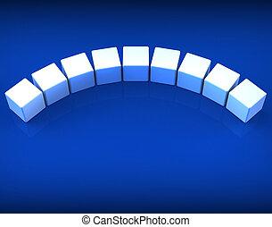 wort, spielwürfel, copyspace, weisen, neun, brief, leer, 9