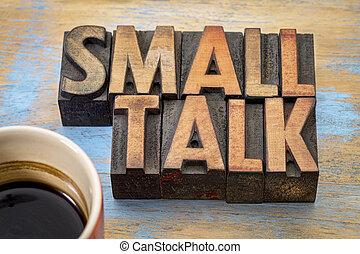wort, talk, klein, abstrakt