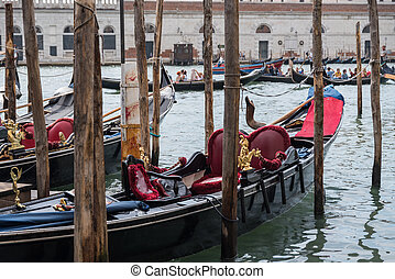 Venice - popular holiday destination with a romantic gondola ride on waterways