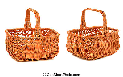 woven basket - empty woven basket