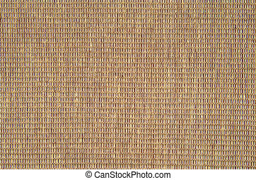 woven cotton yarn background - Detail of woven cotton yarn...