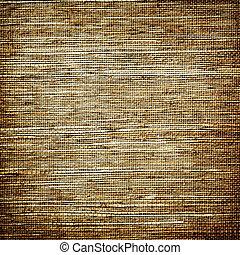 Woven grunge fabric texture