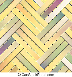 Woven mat or rattan, abstract illustrations of virtual geometric pattern, conceptual. For design texture.