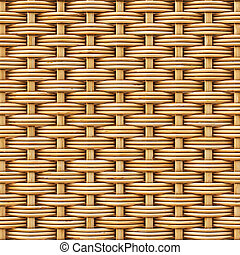 rattan - woven rattan with natural patterns