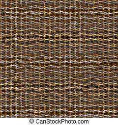 woven wicker basket - great background image of wooden bambo...