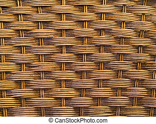Woven wicker or chair texture for background uses