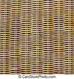 Woven wood pattern or background
