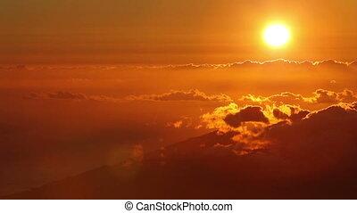 wrakkigheid, ondergaande zon , tijd