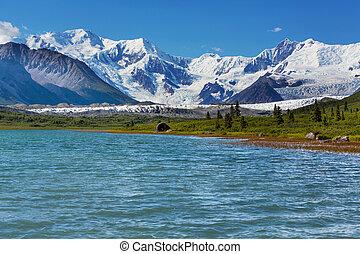 Wrangell-St. Elias National Park and Preserve, Alaska.