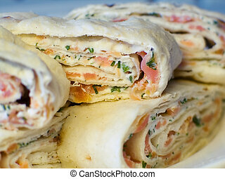 wrap starters - wrap snack food detailed