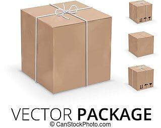 Wraped box