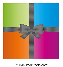 wrapped gift or gift card