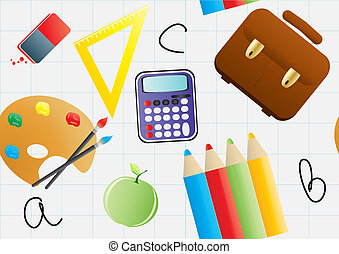 wrapper - Vector illustration of wrapper with educational...