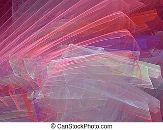 Wrapping paper - Apophysis abstract, best viewed full size (...