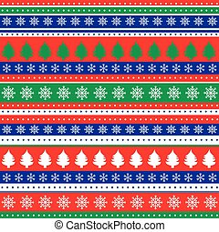 Wrapping paper seamless pattern for Christmas