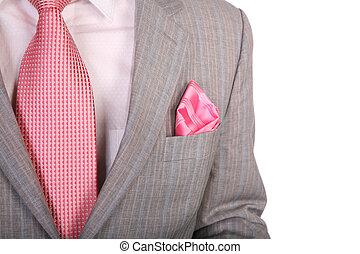 wraps suit necktie 2