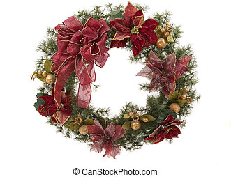 A beautiful Christmas wreath