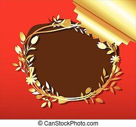 Wreath Floral Frame