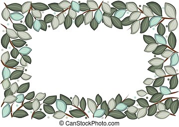 Wreath frame floral anniversary