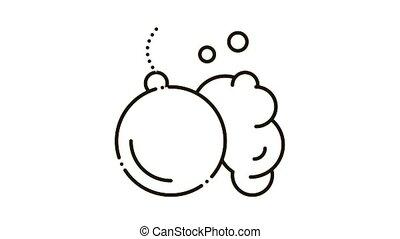 Wrecking Ball Icon Animation