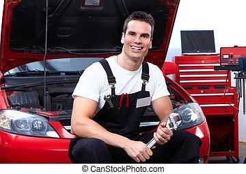wrench., auto mecânico