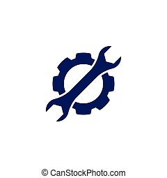 Wrench Service tool logo