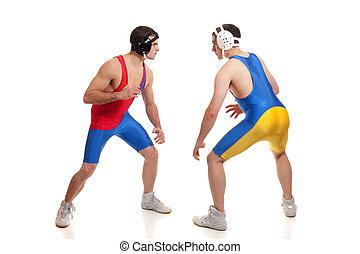 Wrestlers