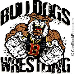 wrestling, bulldog