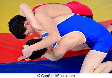 Wrestling - Competitions on Greco-Roman wrestling