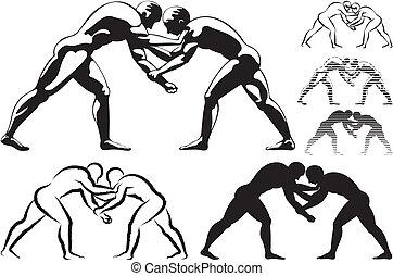 wrestling - freestyle or greco-roman wretsling style