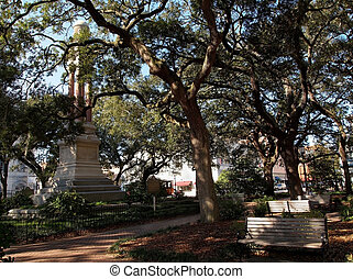 Wright Square Savannah Georgia - Wright Square, in Savannah,...