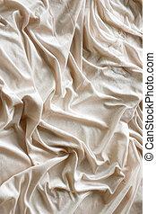 Wrinkled fabric - Wrinkled velvet fabric